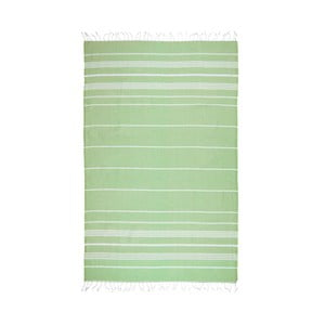 Prosop baie hammam Kate Louise Classic, 180 x 100 cm, verde