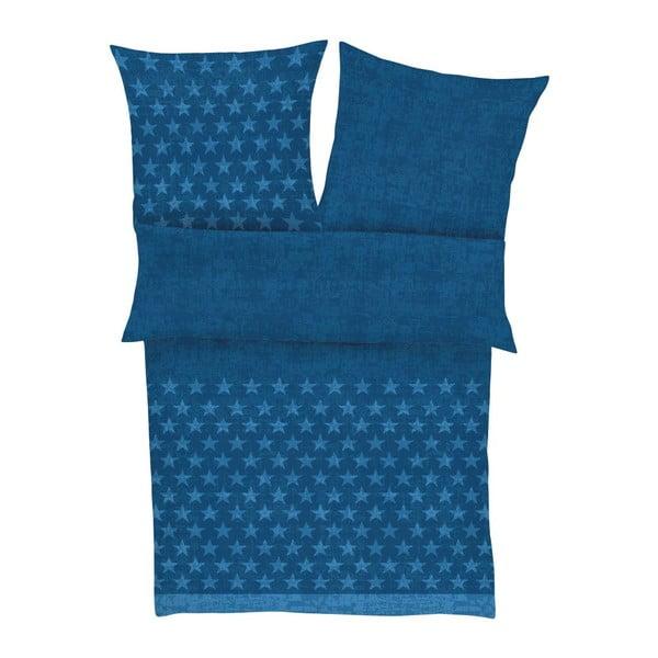 Povlečení Fine Flannel Royal Blue, 140x200 cm