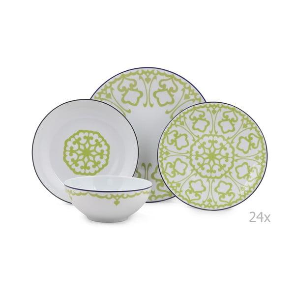24-dielna sada porcelánového riadu Kutahya Pareto