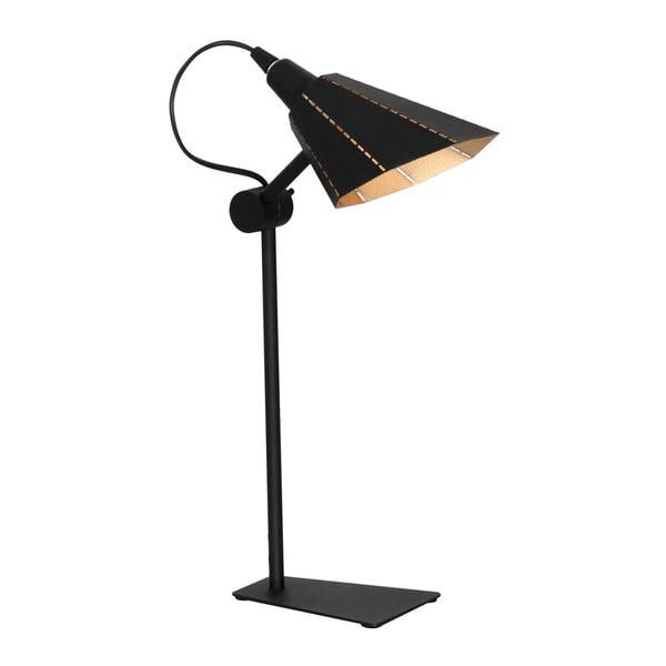 Zambia fekete asztali lámpa - Glimte