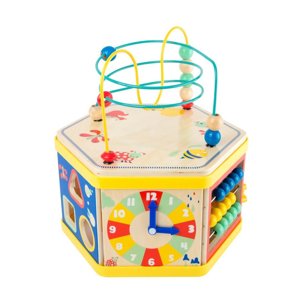 Dětská dřevěná hračka na trénink motorických schopností Legler Move It! Legler
