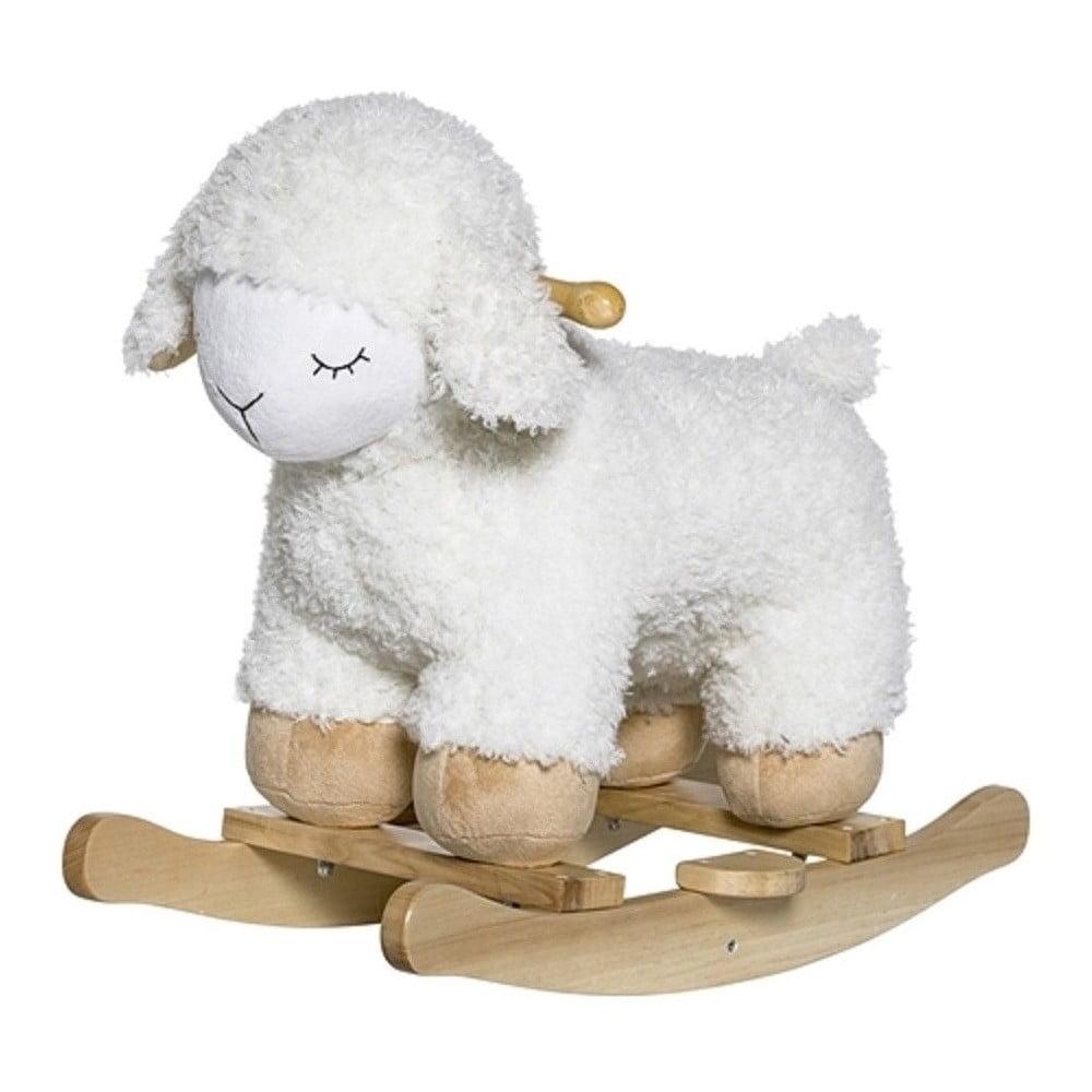 Dětská houpací ovečka z bukového dřeva Bloomingville Rocking Toy