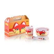 Dětský porcelánový set Fox