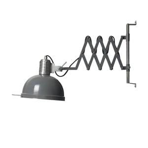 Tmavě šedé nástěnné svítidlo Look4Lamps Lab