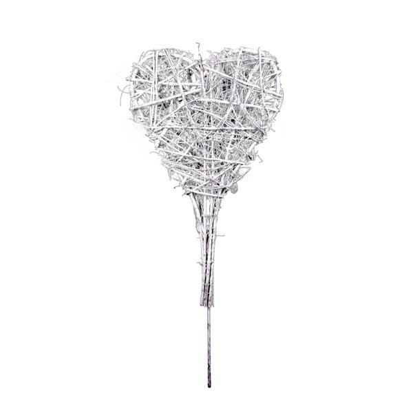 Zapichovací dekorace ve tvaru srdce Ego Dekor