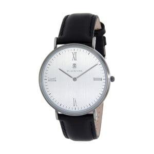 Černostříbrné dámské hodinky Black Oak Stylo