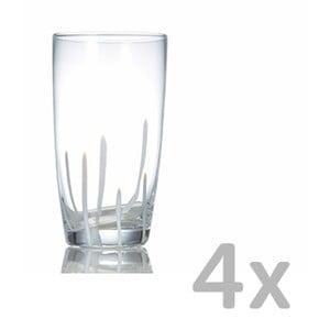 Sada 4 sklenic Salt&Pepper Mikado, 0,45l