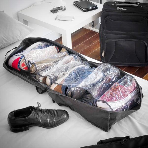 Czarne etui podróżne na buty InnovaGoods