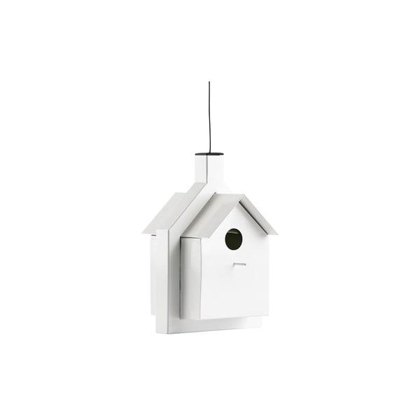 Ptačí budka Alicante 24 cm, bílá