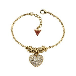 Náramek Guess Gold Heart