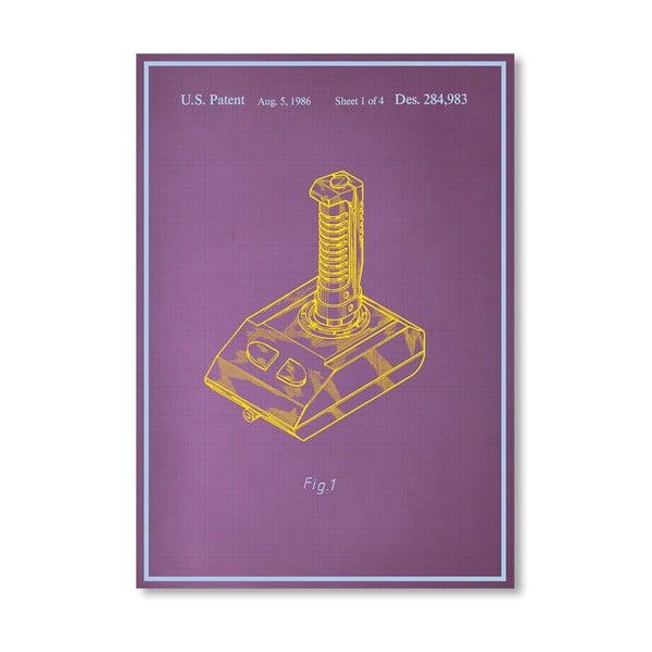Plakát Joystick II, 30x42 cm