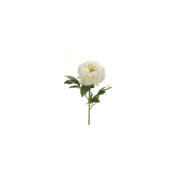 Umělá květina Pivoňka, krémová
