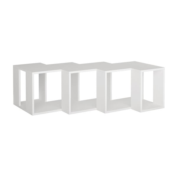 Bílý TV stolek Cons Extra White