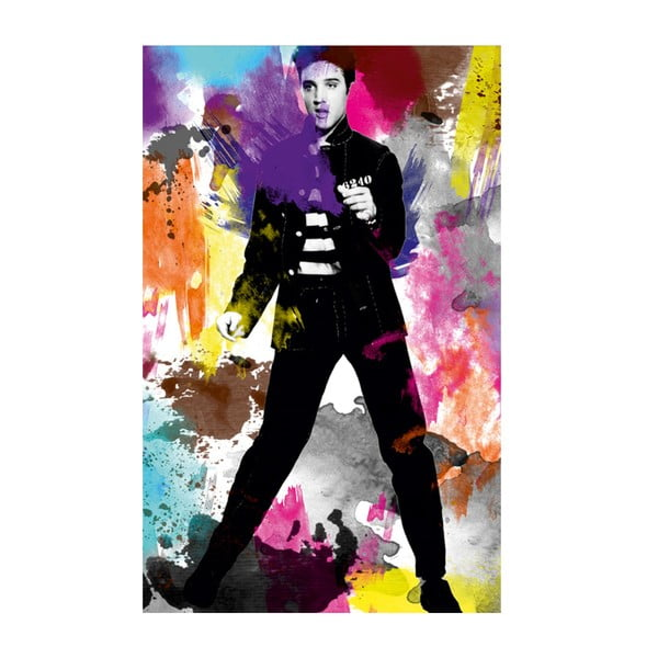 Obraz Milovaný Elvis, 45x70cm