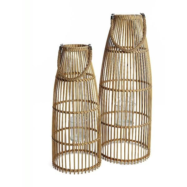 Sada 2 bambusových luceren Simla Natural
