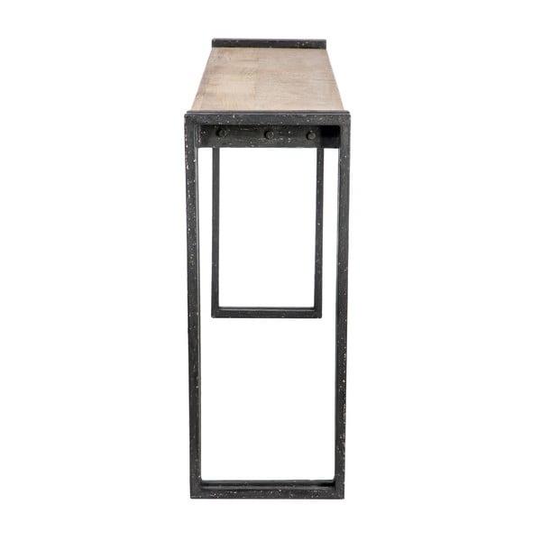 Konzolový stolek Metal Black
