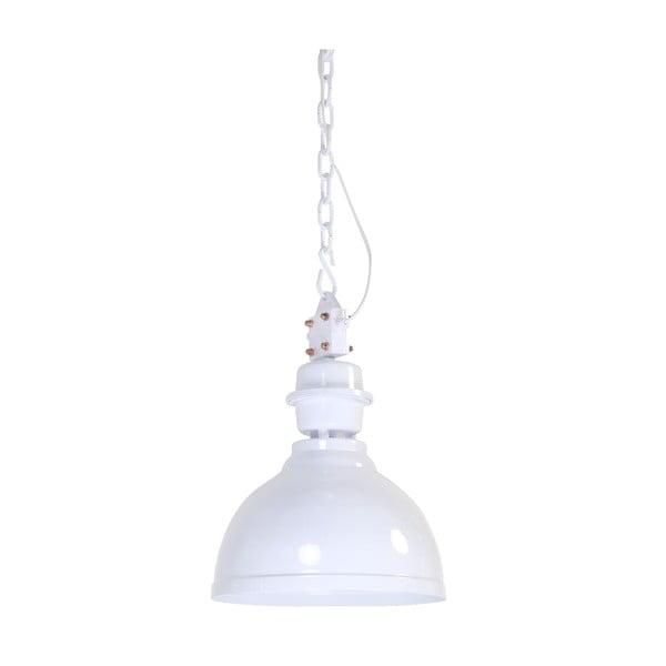 Závěsné světlo Clinton White, 35 cm
