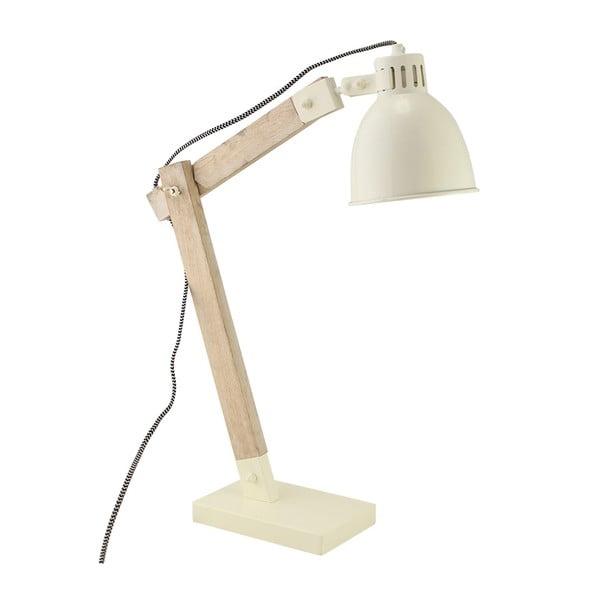 Stolní lampa Roland Cream