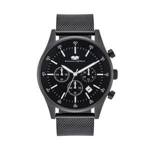 Černé pánské hodinky s černým ciferníkem Rhodenwald & Söhne Goodwill