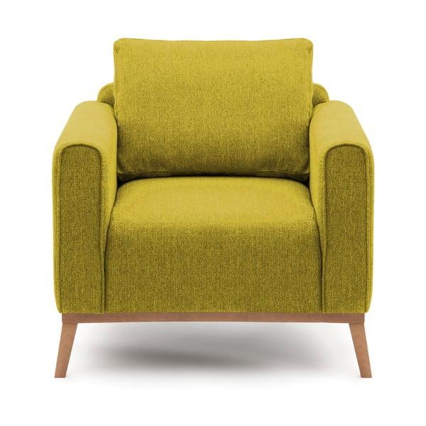 Milton limezöld fotel - Vivonita