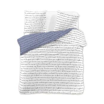 Lenjerie de pat din microfibră DecoKing Poemlight, 200 x 200 cm