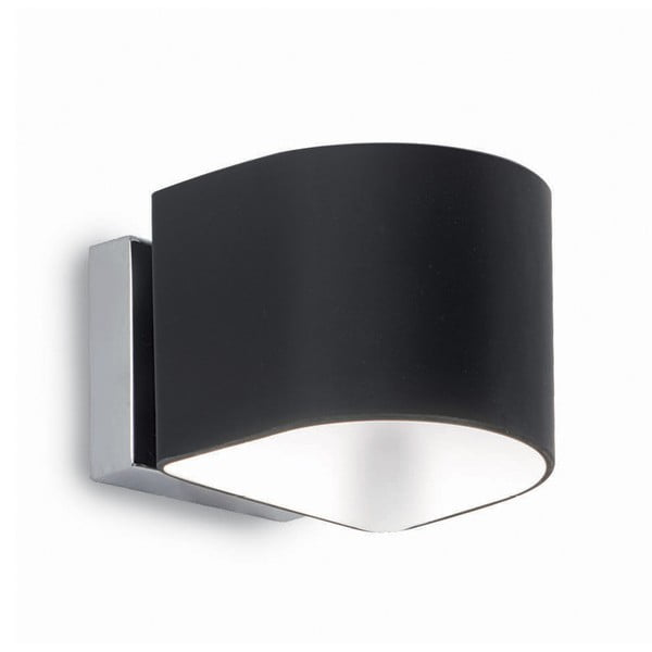 Černé nástěnné svítidlo Evergreen Lights Rondo