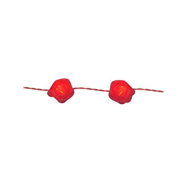 Světelný LED řetěz Best Season Red Roses