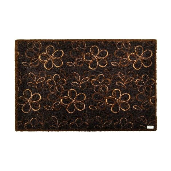 Rohožka Zala Living Floral Brown, 50×70 cm