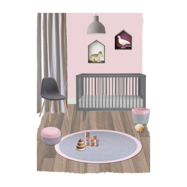 Dětský koberec Brenda Rose, 120 cm