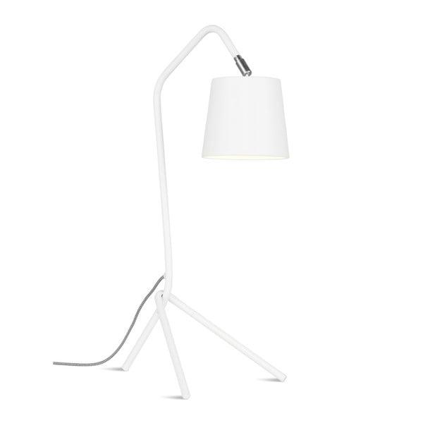 Bílá stolní lampa Citylights Barcelona