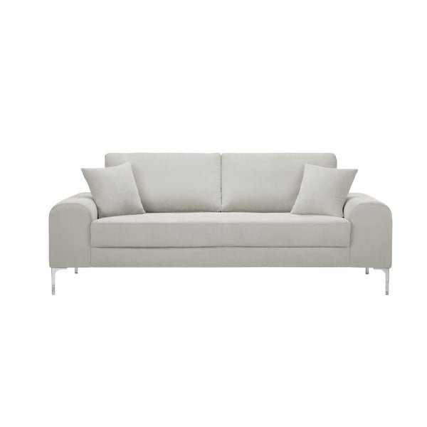 Canapea cu 3 locuri Corinne Cobson Dillinger, crem