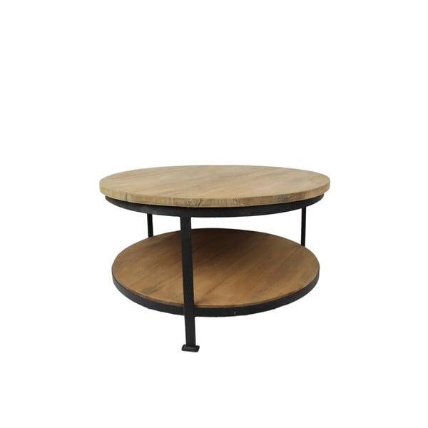 Konferenční stolek z kovu a dřeva HSM collection Base