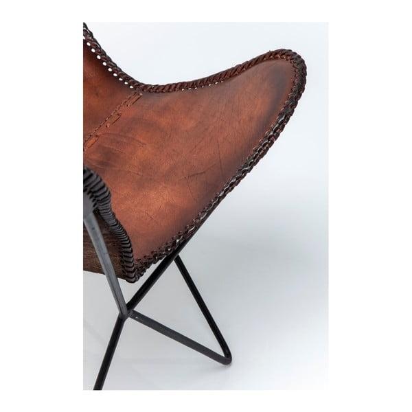 Sada 2 kožených křesel Kare Design Butterfly