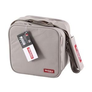 Šedá obědová taška Bergner Cube