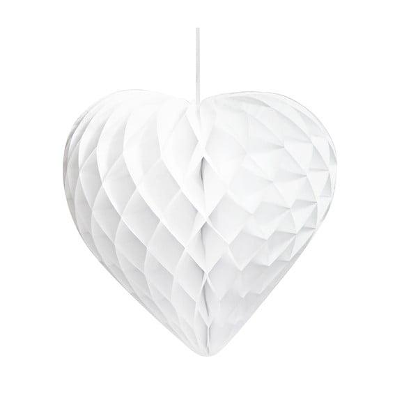 Papírové dekorace Honeycomb Hearts, 3 kusy