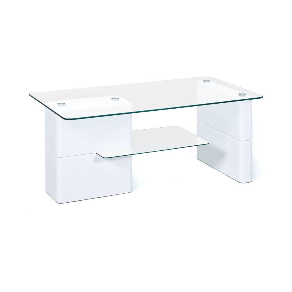 Bílý konferenční stolek Interlink Adrian