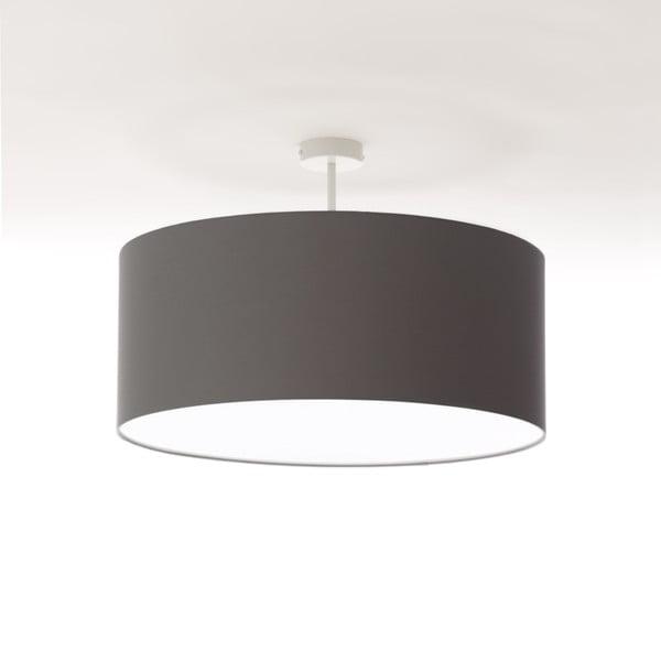 Tmavě šedé stropní světlo 4room Artist, Ø 60 cm