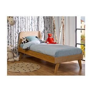 Dětská přírodní postel JUNIIOR Provence Oskar Junior, 90x200cm