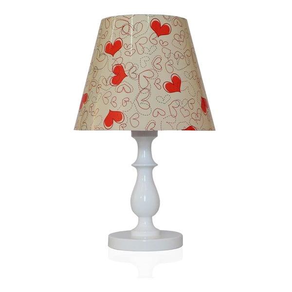 Stolní lampa Láska je ve vzduchu