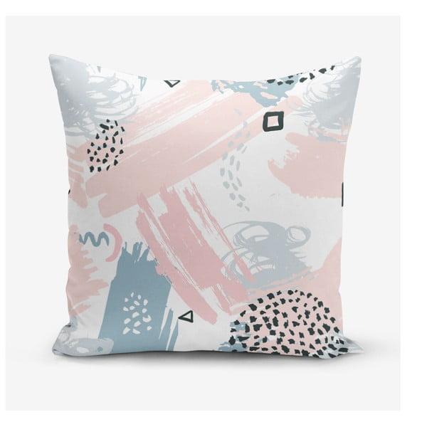 Povlak na polštář s příměsí bavlny Minimalist Cushion Covers Boyama, 45 x 45 cm