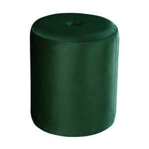 Zelený puf JohnsonStyle Ellen Magic Velvet, ⌀ 40 cm