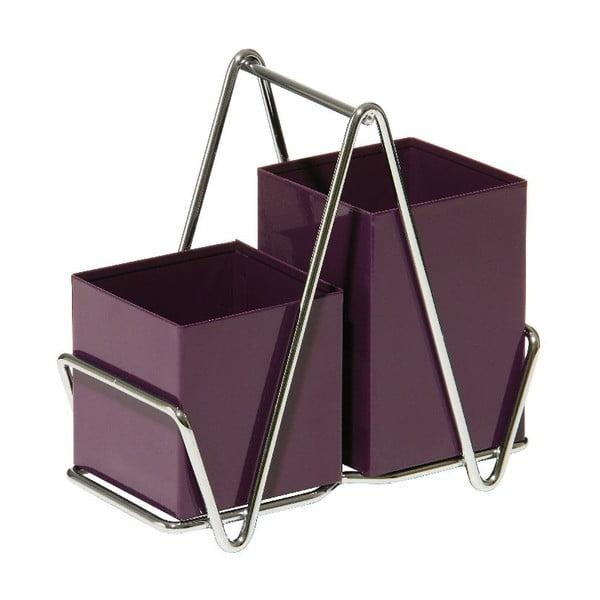 Stojan na příbory Caddy Purple