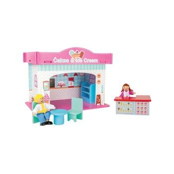 Magazin înghețată din lemn pentru copii Legler Playhouse Ice Cream Shop de la Legler