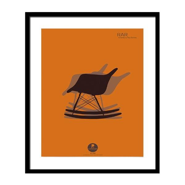 Plakát v černém rámu Design Icon No.4