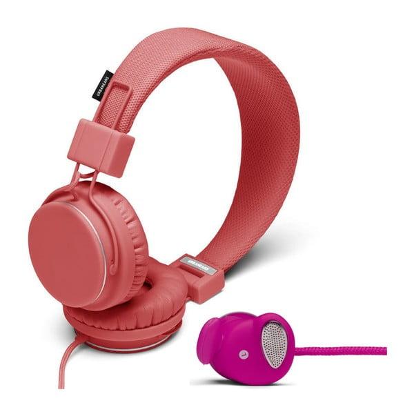 Sluchátka Plattan Coral + sluchátka Medis Raspberry ZDARMA
