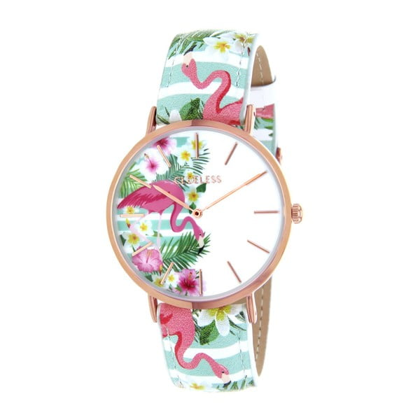 Ceas damă Clueless Flamingo Flamant
