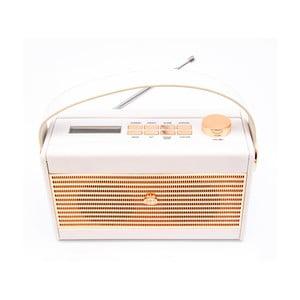 Krémově bílé rádio GPO Darcy Black Wo294