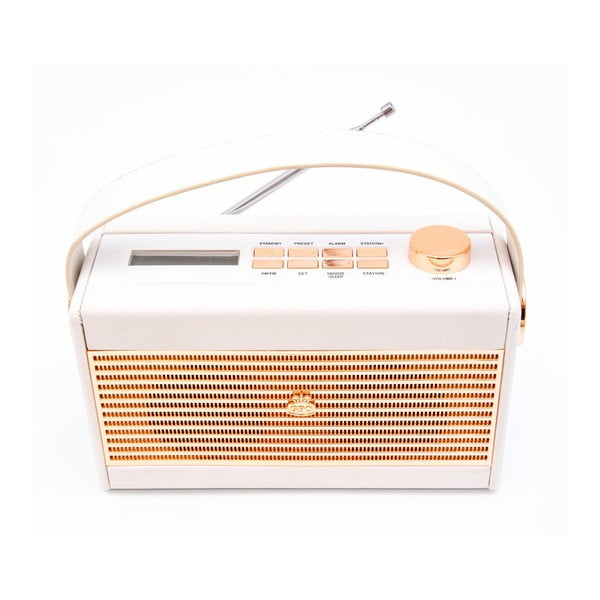 Radio GPO Darcy Black Wo294, crem alb