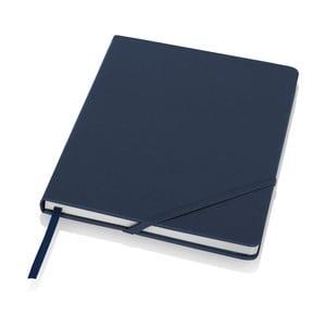 Blocnotes albastru Balmain A5 în cutie cadou