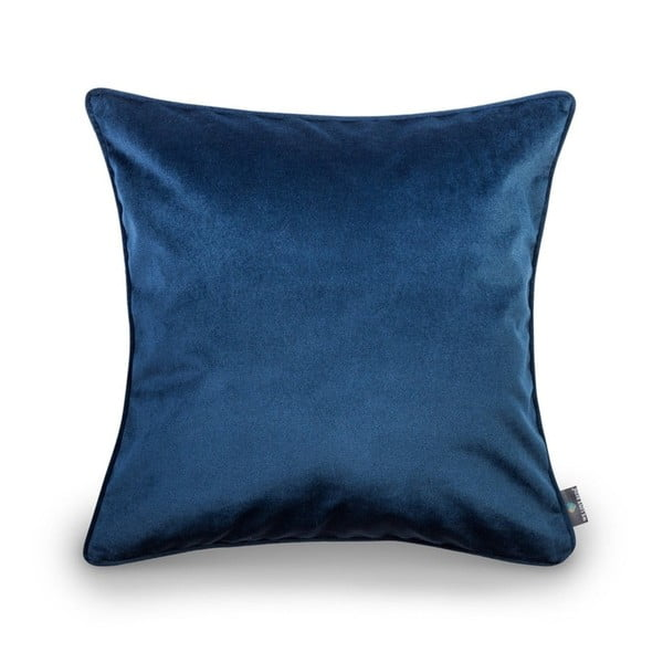 Modrý povlak na polštář WeLoveBeds Royal, 50 x 50 cm